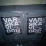 Affischering i Kalmar